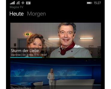 App Empfehlung: Magine jetzt auch auf Windows Phone verfügbar