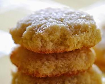 Glutenfreie Kokos-Kekse [Cookies ohne Mehl]