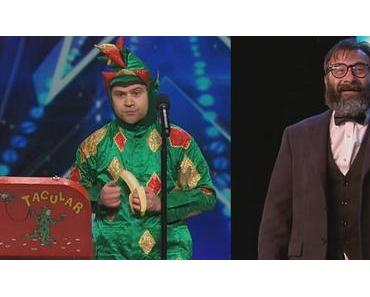 Piff the Magic Dragon und ein Clown mit grandioser Slapstick Performance