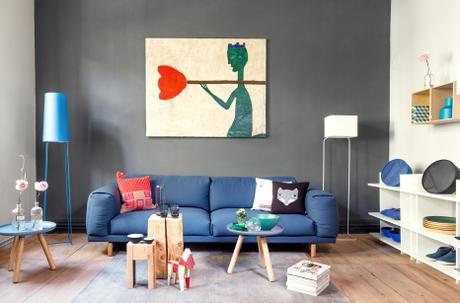 2nd home in frankfurt. Black Bedroom Furniture Sets. Home Design Ideas