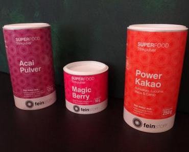 review feinstoff + veganes eis + sommerlicher smoothie