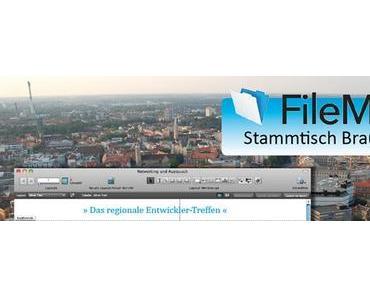 Neuer FileMaker Stammtisch in Braunschweig.