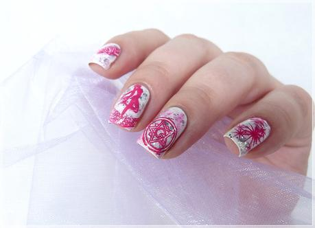 Sailor Moon Nailart