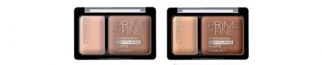 CATRICE Sortimentswechsel Neuheiten Herbst Winter 2015 - Preview - Prime and Fine Professional Contouring Palette