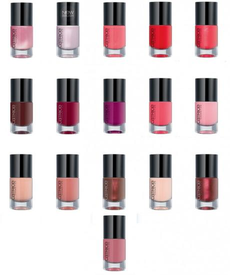 CATRICE Sortimentswechsel Neuheiten Herbst Winter 2015 - Preview - Ultimate Nail Lacquer