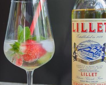 Sommerlich fruchtiger Cocktail: Lillet Vive