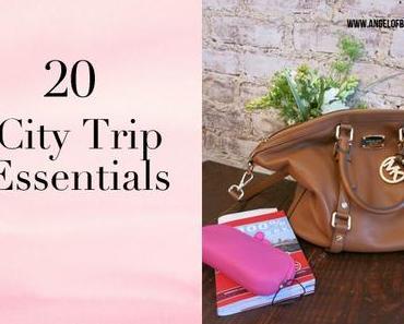 [organises...] 20 City Trip Essentials