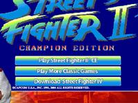 Capture d'écran de Street Fighter II' - Champion Edition